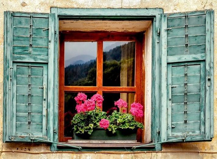 παράθυρο στην Ιταλία