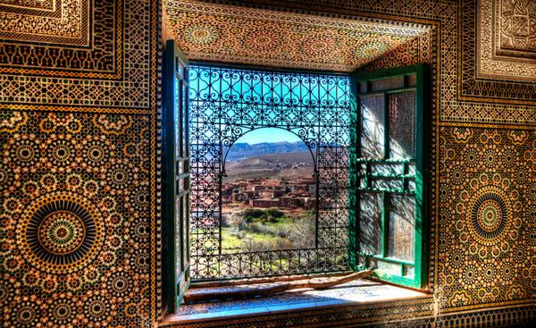 παράθυρο στο Μαρόκο