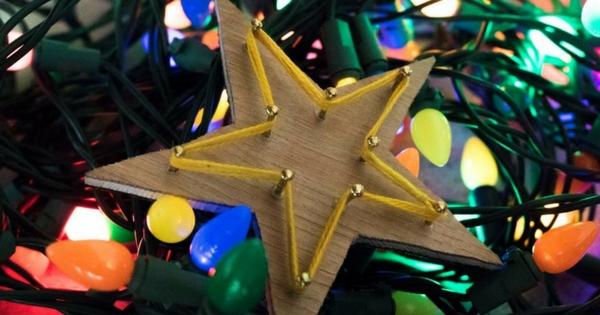 ξύλινο αστέρι