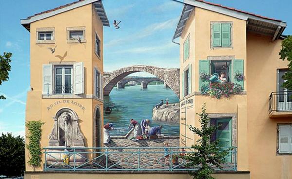 ζωγραφική σε τοίχο